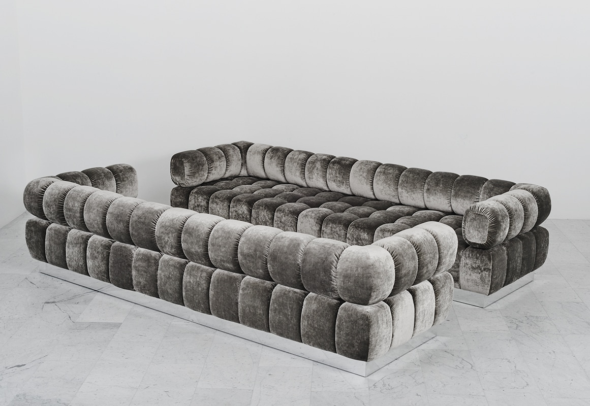 Silver Tufted Sofa Furniture Ethan Allen Sofa Legs Black