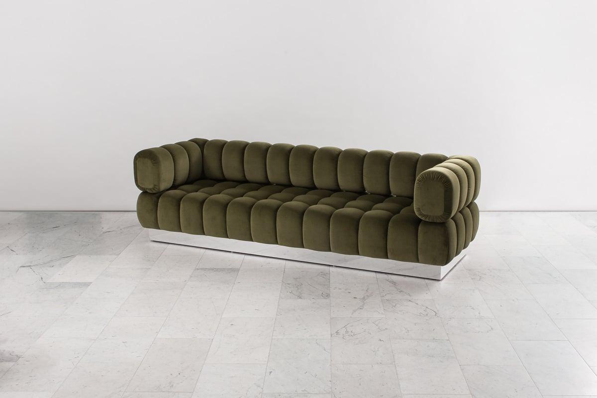 Todd Merrill Custom Originals Extended Back Tufted Sofa #designninja