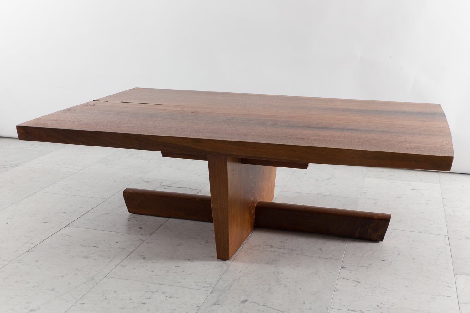 George nakashima large minguren low table usa 1974 for Large low coffee table