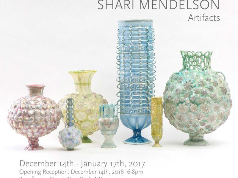 Shari Mendelson: Artifacts