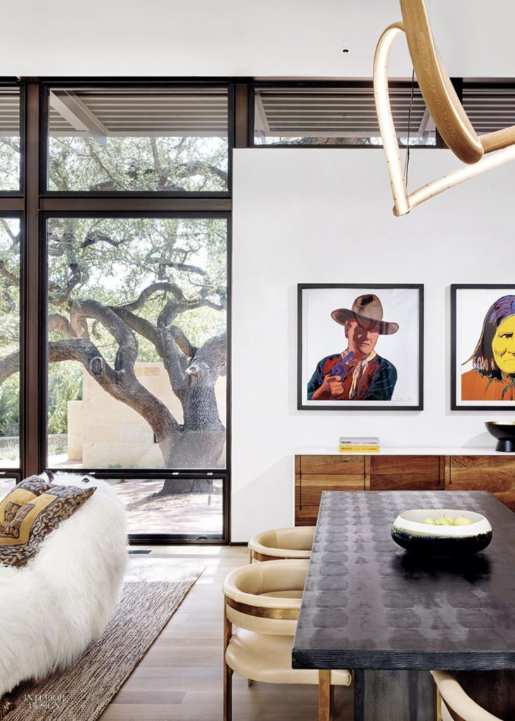 John Procario In Interior Design San Antonio House By