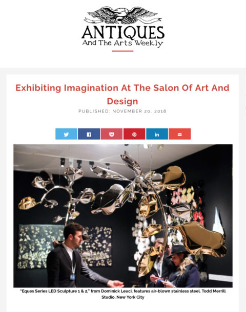 Antiques and the Arts 11.18